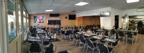 Intérieur du restaurant ACCOSSATO à La Trinité