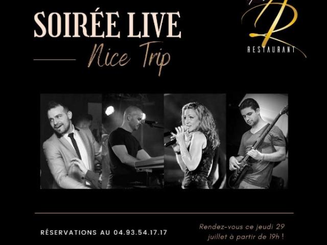 Soirée Live Nice Trip